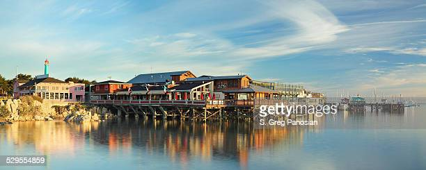 fisherman's wharf - monterey - monterrey stock pictures, royalty-free photos & images