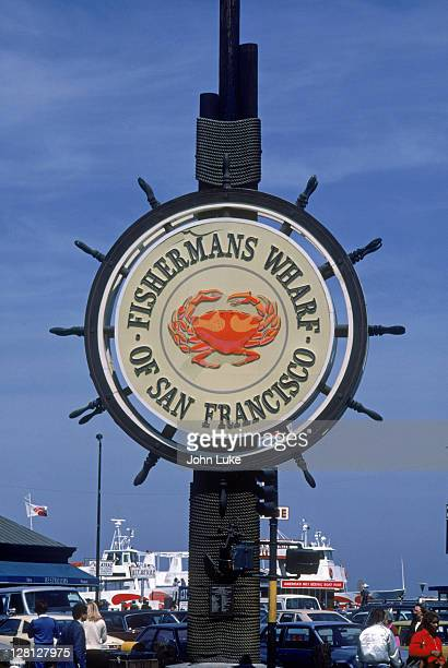 fisherman's wharf, san francisco, ca - fishermans wharf stock pictures, royalty-free photos & images