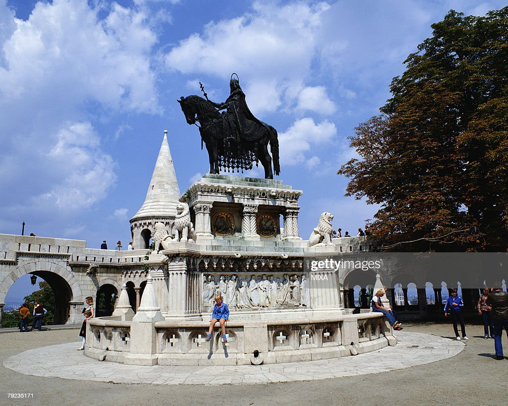 Fishermen Bastion in Budapest, Hungary : Stock Photo