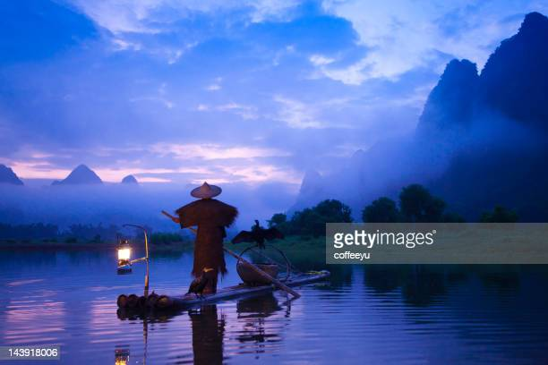 Fishermen  fashing on Li River