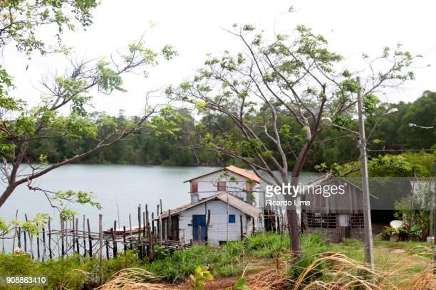 Fishermen Houses, Para state, Brazil.