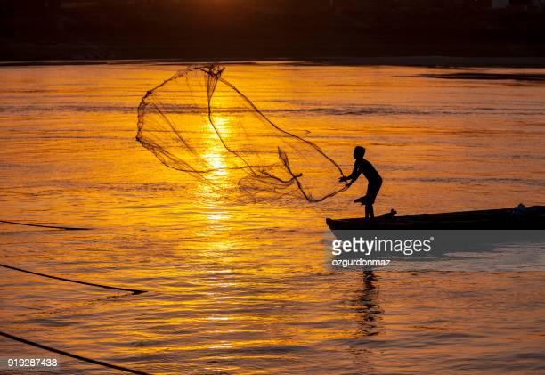 Fishermen in River Ganges