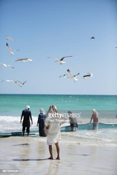 Fishermen In Salalah