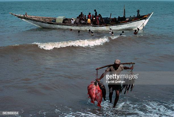 Fishermen in the Red Sea