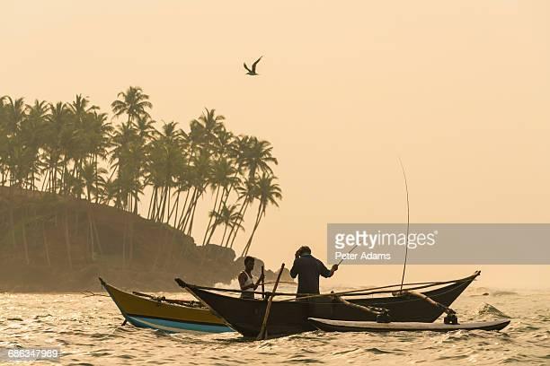 Fishermen, Mirissa, South Coast, Sri Lanka
