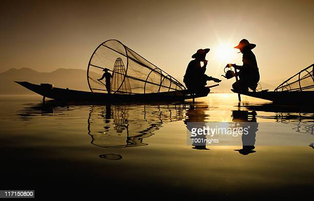 Pêcheurs, Myanmar