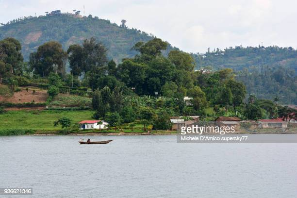 Fishermen on Lake Kivu