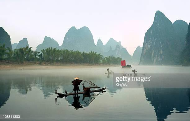 Fishermen on Li River