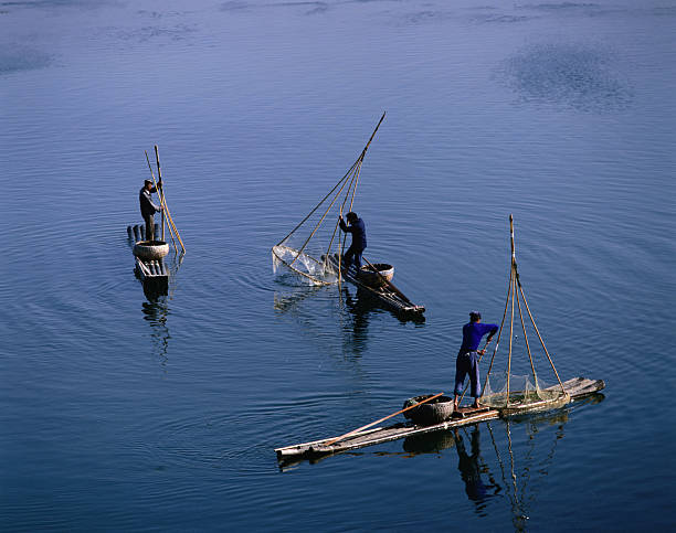 Fishermen on Li River.