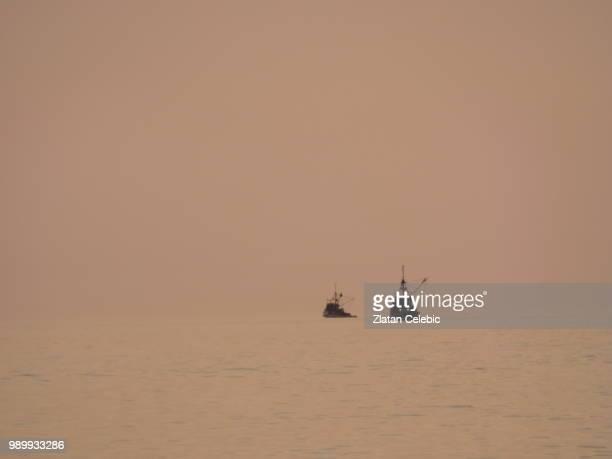 Fishermen on the go...