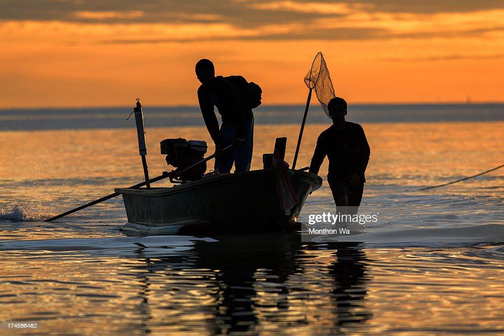 Fishermen : Stock Photo