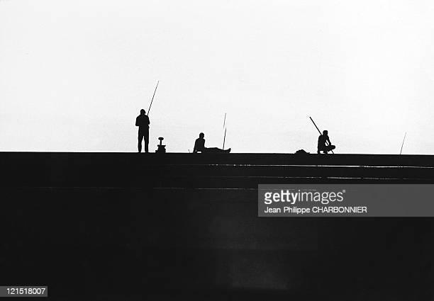 Fishermen Shadows In The Light 1950'S
