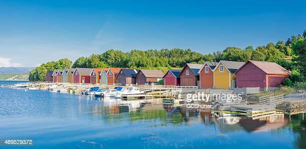 Fishermen's Barns in Ålesund, Norway