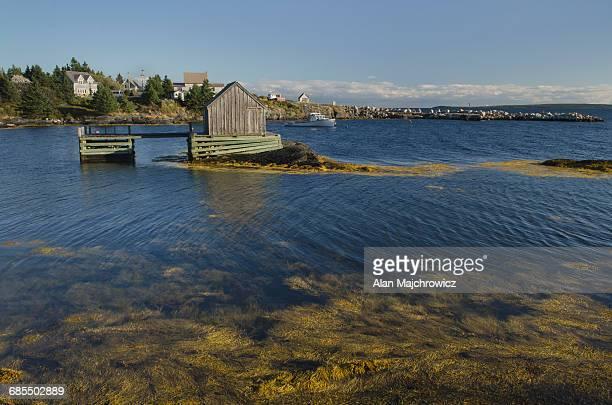 Fishermen's shack Blue Rocks Nova Scotia