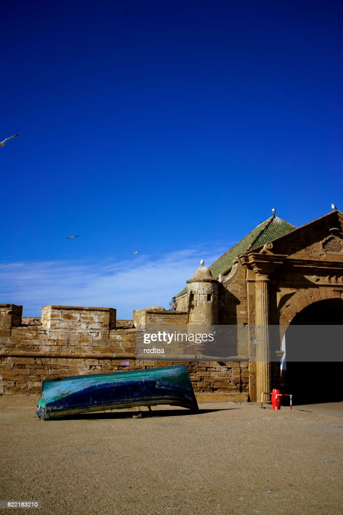 Fishery town of Essaouira, Morocco : Stock Photo