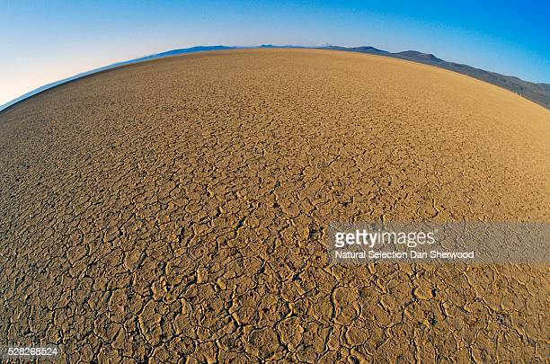 fisheye view of alvord desert - dan sherwood photography stock pictures, royalty-free photos & images