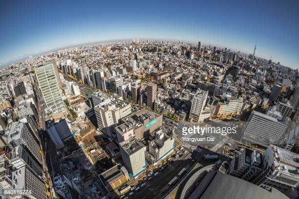 東京の魚眼 - 魚眼撮影 ストックフォトと画像