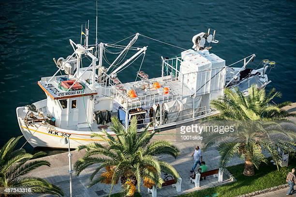 Fishing boat at Greece, Kavala