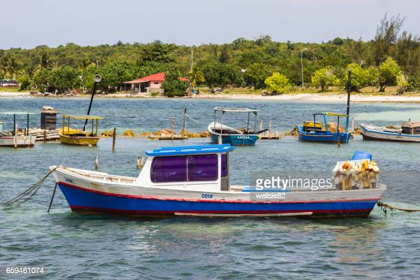 Fishing boat at Guardalavaca