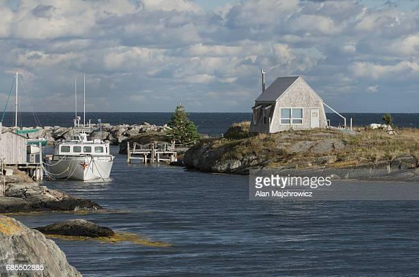 Fishing boat Blue Rocks Nova Scotia