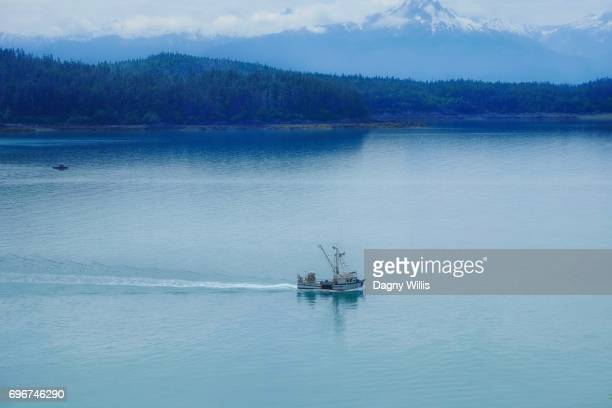 Fishing Boat in Southeast Alaska USA