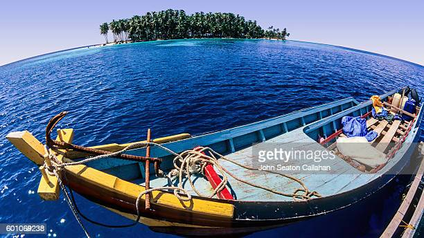 Fishing Boat in the Mentawai Islands