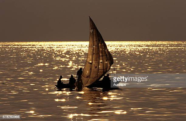 Fishing boat Lake Tanganyika Tanzania