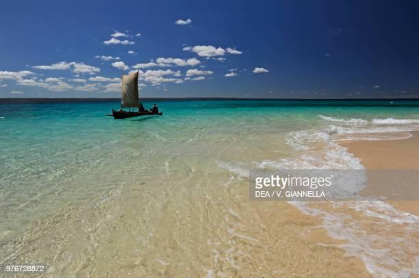 Fishing boat, Nosy Saba island, Madagascar.