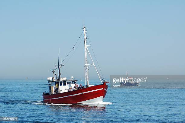 Fishing Boat on baltic sea