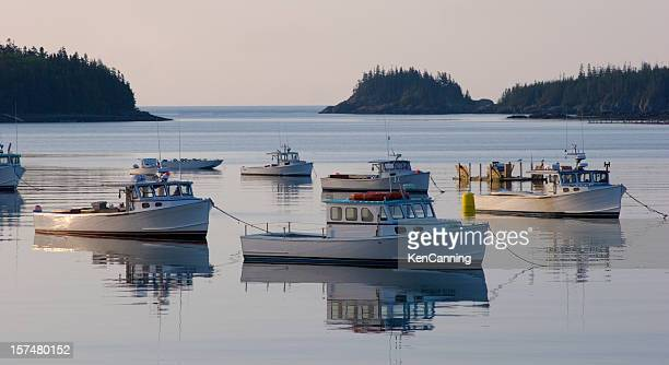 Fishing Boat Trawlers, Maine