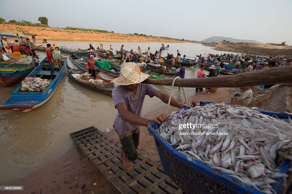 The Mekong River Under Threat From Dam Construction : News Photo