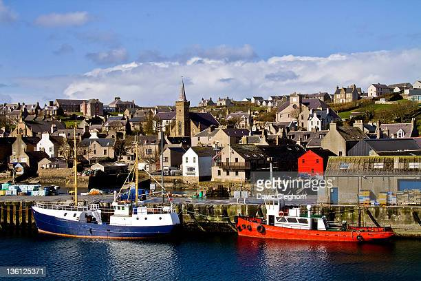 Fishing boats at Stromness