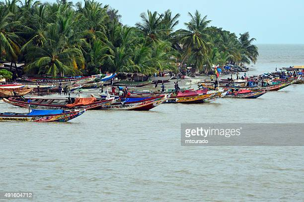 Fishing boats, Banjul island, The Gambia