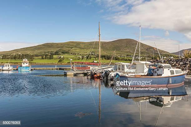 Fishing boats, Cahersiveen harbor, County Kerry, Ireland