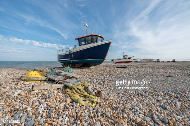 fishing boats, dungeness - dungeness stock pictures, royalty-free photos & images