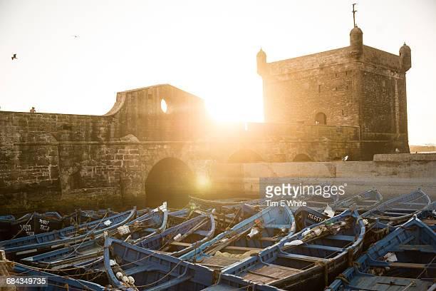 Fishing boats, Essaouria harbour, Morocco