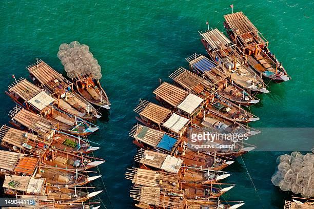Fishing boats in Mina Zayed