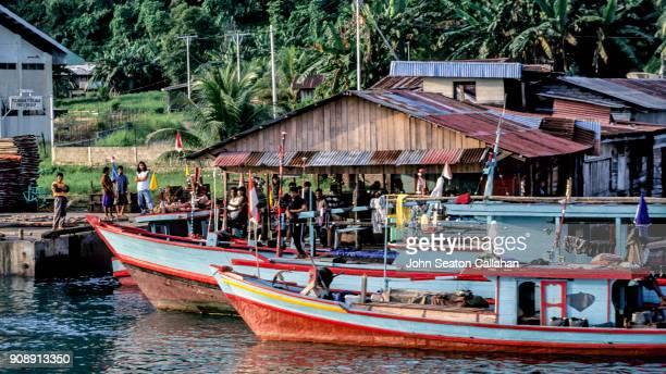 Fishing Boats in the Mentawai Islands