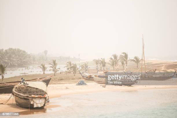 Fishing boats Togo