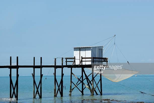 Fishing Cabin and Carrelet Net near La Rochelle