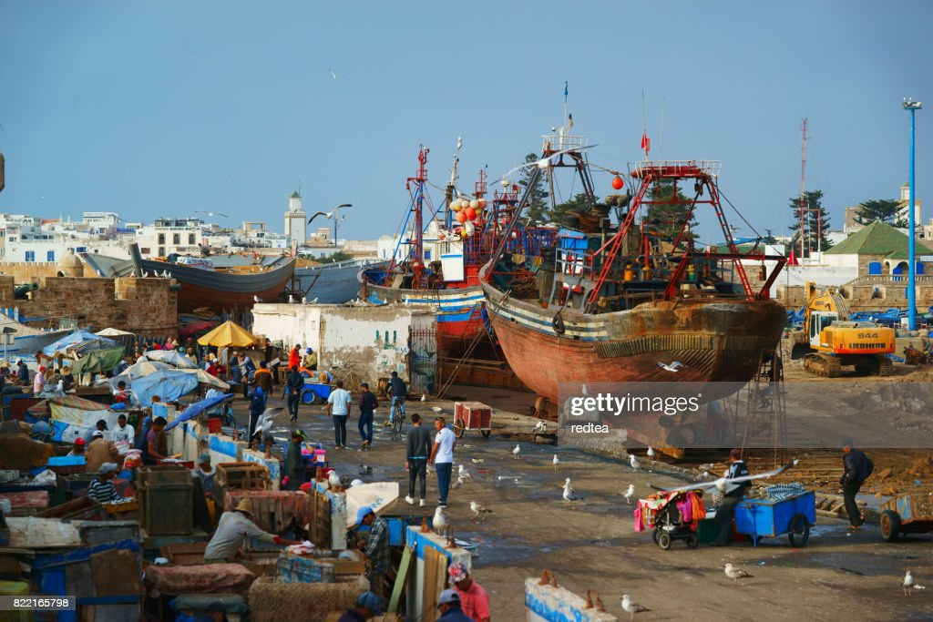 Fishing City - Essaouira, Morocco : Stock Photo