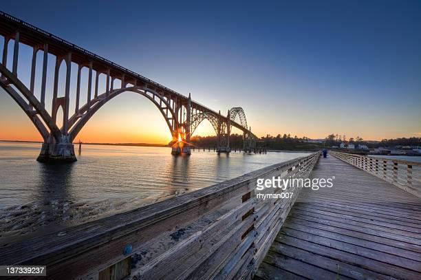 Fishing Dock at Newport Oregon