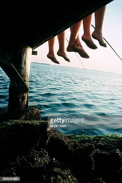 Fishing feet