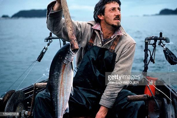 Fishing in Alaska United States Salmon troll fisherman