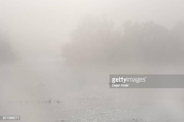 Angeln im Herbst mist