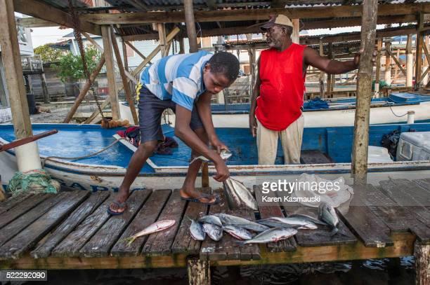 Fishing in Hondura