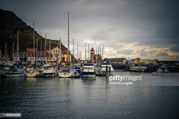 fishing industry in scarborough, north yorkshire. uk - brexit stock pictures, royalty-free photos & images