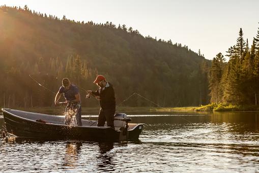 Fishing lake in early summer. 1206437884