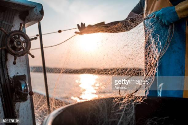 Fishing net is a must