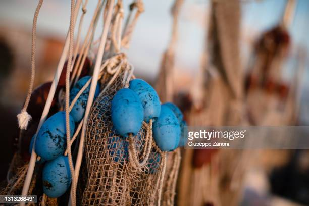 fishing net - orbetello bildbanksfoton och bilder